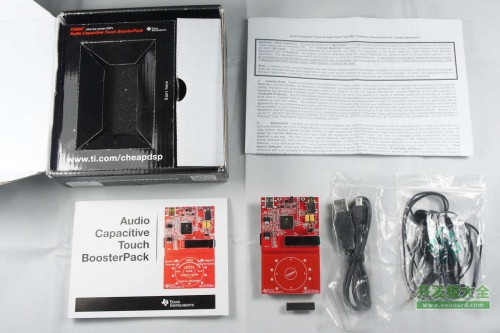 C5000音频电容式触摸BoosterPack全家福