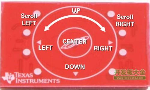 C5000音频电容式触摸BoosterPack触摸板部分
