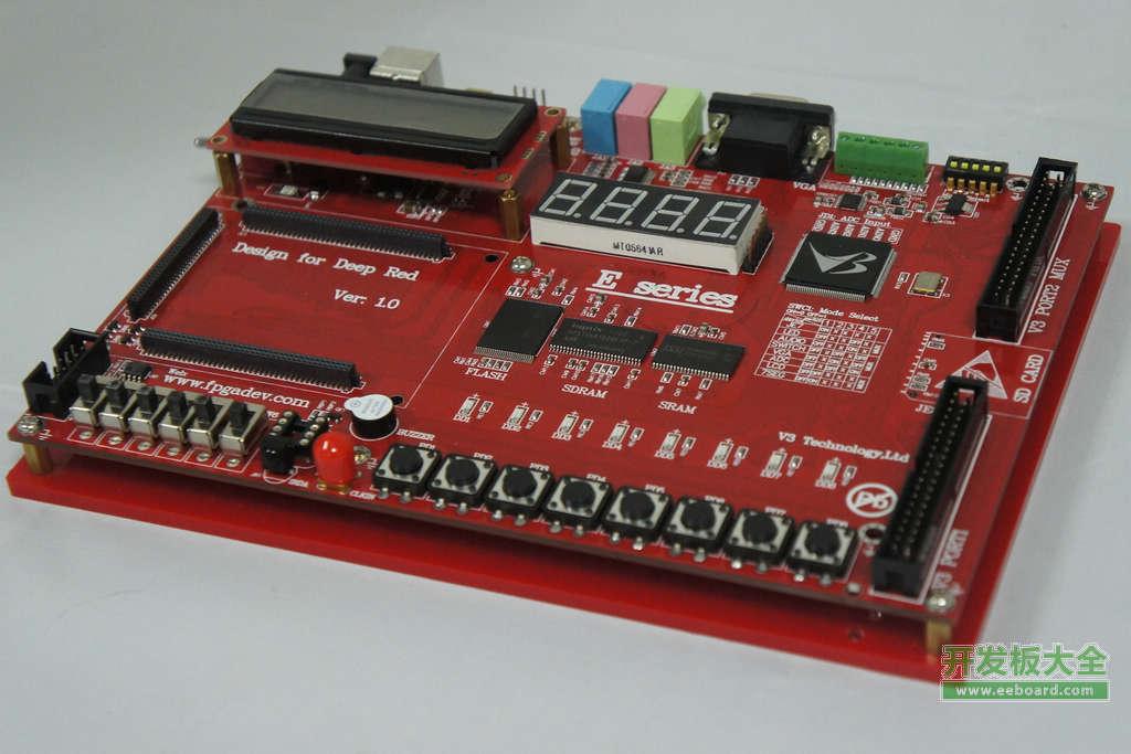 紅色颶風E9 FPGA開發板評測