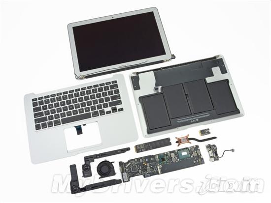 2012新款13寸MacBook Air詳盡拆解