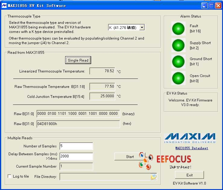 MAX31855EVK-4