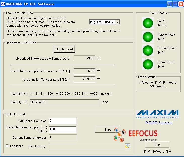 MAX31855EVK-6