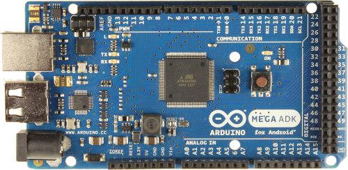 Arduino Mega ADK的实物图