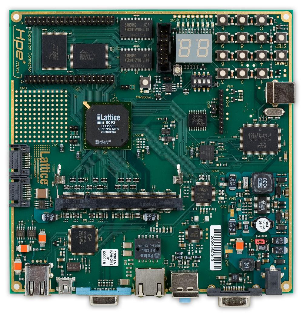 latticemico32 dsp 开发板
