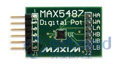 双通道非易失数字电位器MAX5487