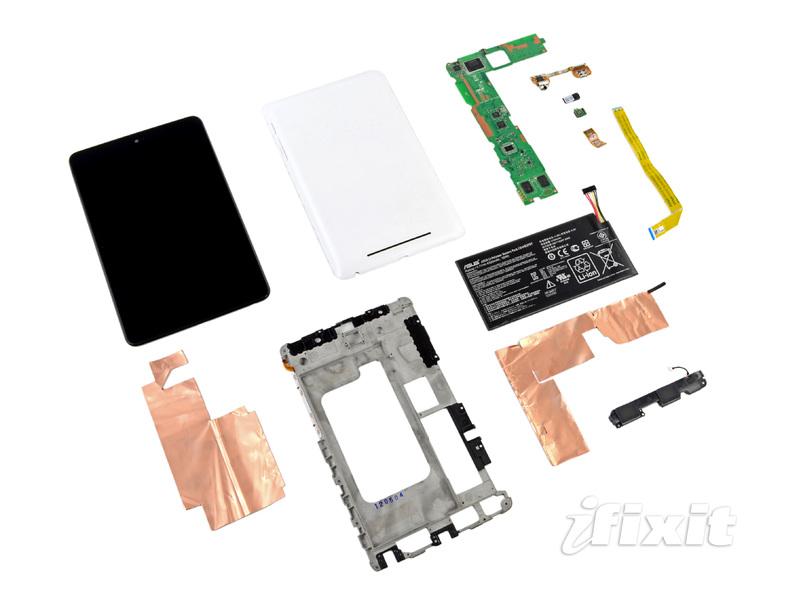 Google Nexus7 完全拆解