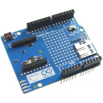 Arduino的无线网络+SD卡扩展板