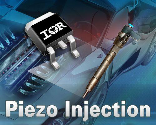 IR 车用功率MOSFET适用汽油和柴油发动机压电喷射系统