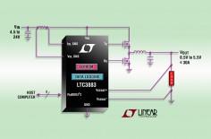 凌力尔特推出同步降压型DC/DC控制器 LTC3883/-1