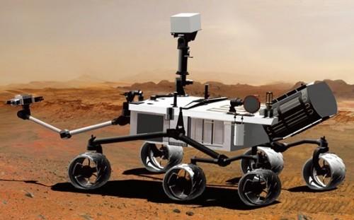 NASA好奇号火星车安度 恐怖7分钟