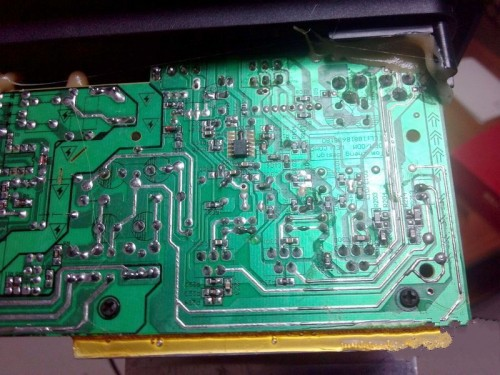 低音炮功插电电路板
