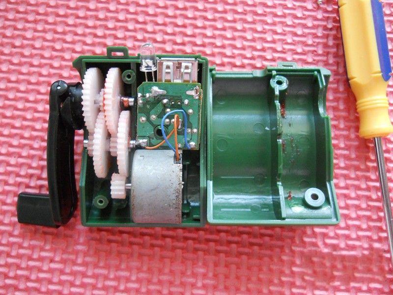 拆解手摇发电机充电器 5 – 爱板网