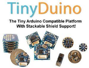 TinyDuino - 比硬币还小兼容Arduino的开源硬件开发板