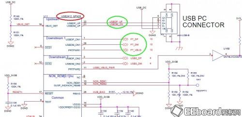 再经过串口接口ic ft2232l转换成uart信号