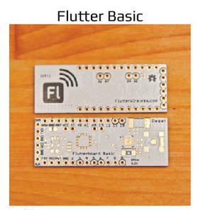 开源无线连网硬件:Flutter