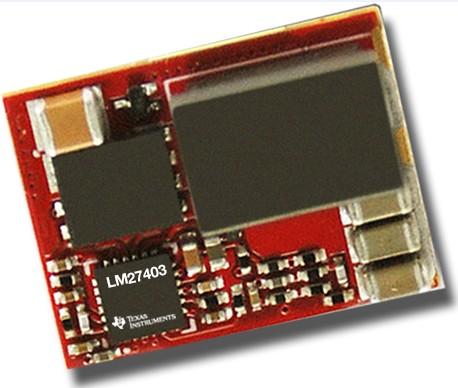 德仪推出业界首款支持动态温度补偿电感器电流传感的模拟DC/DC控制器LM27403