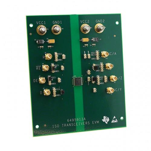 该evm将交付与安装在电路板上的iso3082dw工厂.