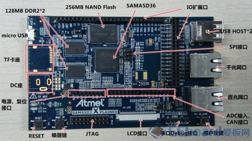 【七嘴八舌】Atmel SAMA5D3 Xplained开发板来袭——Classic ARM 处理器甩一边