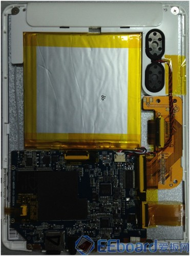 台电P85双核平板 拆解1效果