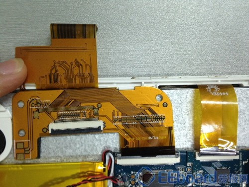 台电P85双核平板 液晶屏排线