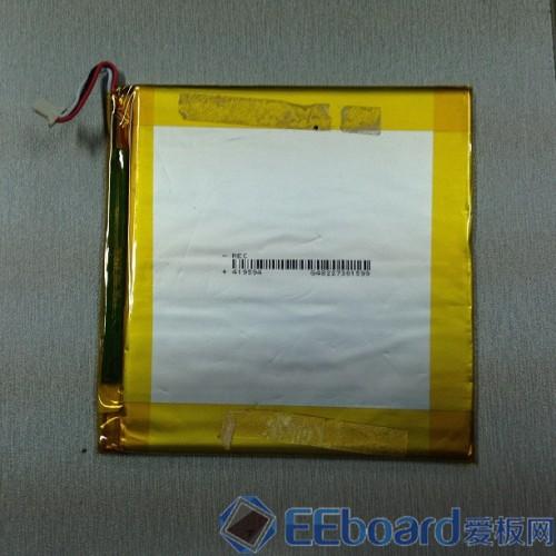 台电P85双核平板 电池