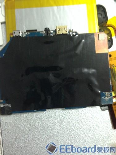 台电P85双核平板 Wifi模块背面