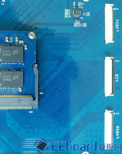 MY-I.MX6开发板底板LVDS信号走线