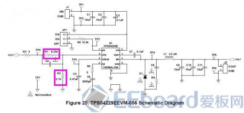 属于低频电路,电路布线和器件间的电感影响较小