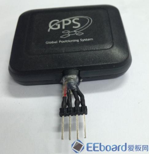 GPS接收器 引脚处理