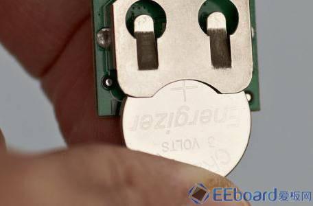 SensorTag主板 背部电池座