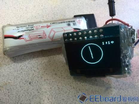 DIY蓝牙手表 显示方式1