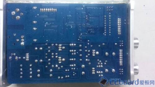 得胜科声MA-1C音效放大器 PCB背面