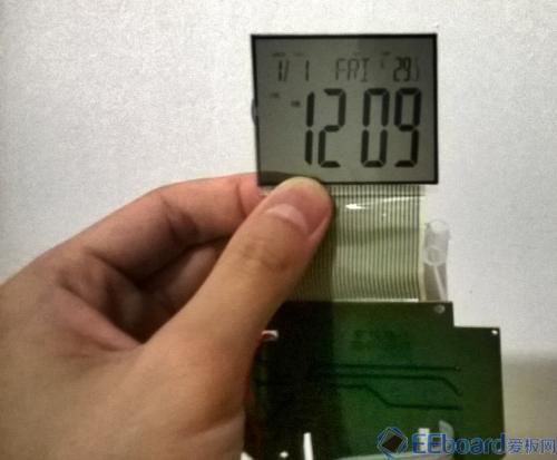 NXP LOGO闹钟 LED屏