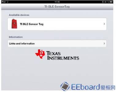 SensorTag安装支持