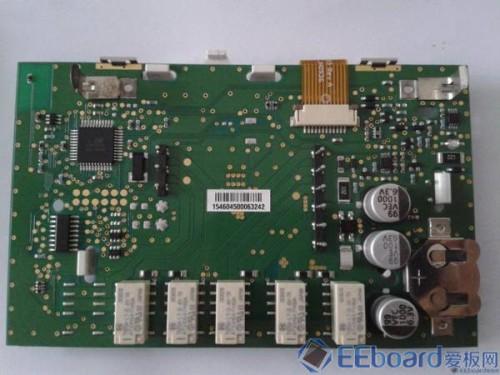 HoneyWell温控器 PCB正面