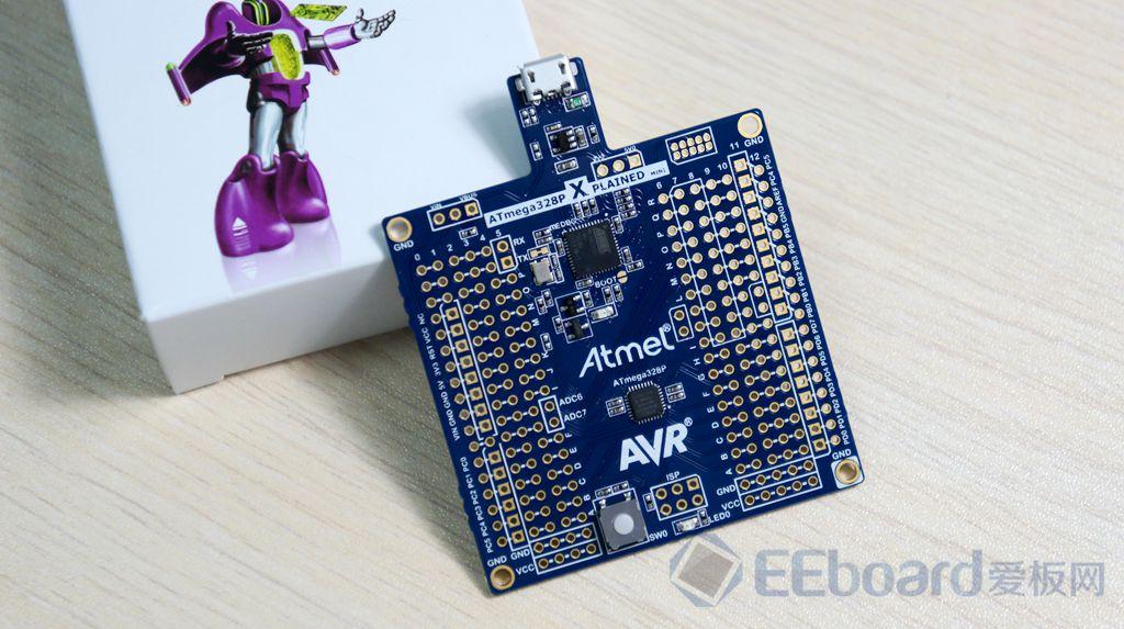 """与arduino""""本是同根 ——atmel atmega p xmini开发板评测 开发板测评"""
