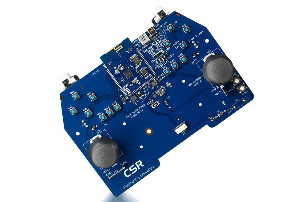 CSR推出双模蓝牙平台加快新一代低功耗无线游戏控制器的开发