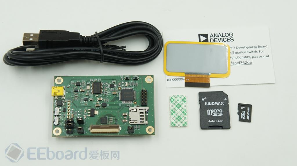 小巧、低功耗的运动监测解决方案——ADI EVAL-ADXL362Z-DB开发板评测