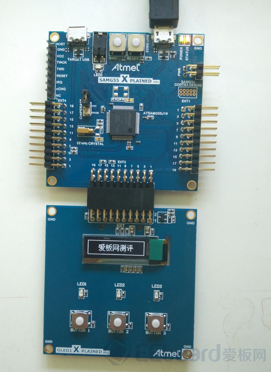 ATMEL新貴——SAM G55簡單試用(原創代碼)