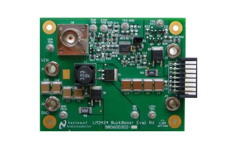 LM3424BKBST 评估板