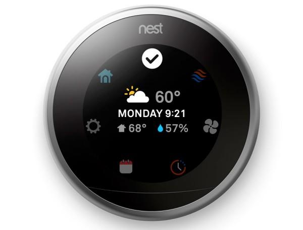 Nest发布新一代温控器 搭配更大更好的显示屏