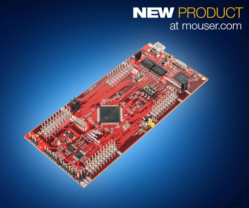 Mouser 推出TI C2000 Delfino微控制器LaunchPad套件