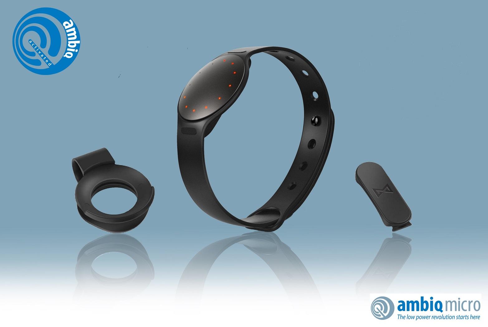 Ambiq Micro的低功耗MCU使得Misfit的下一代可穿戴产品能够实现更多功能