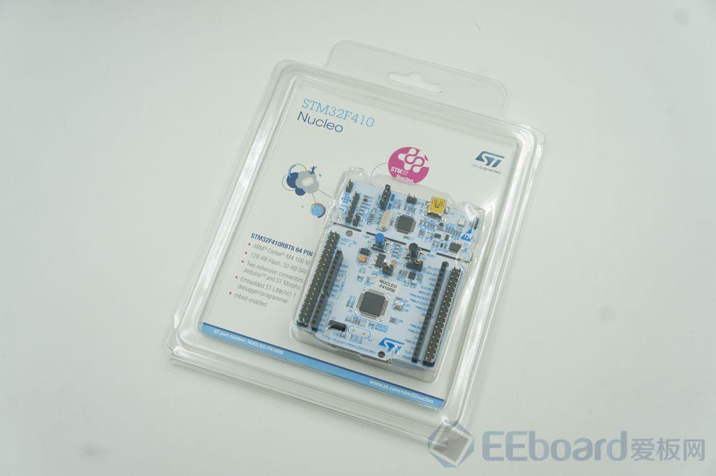 簡單好用、基于ARM Cortex-M4的入門級開發板——STM32F410RB Nucleo評測