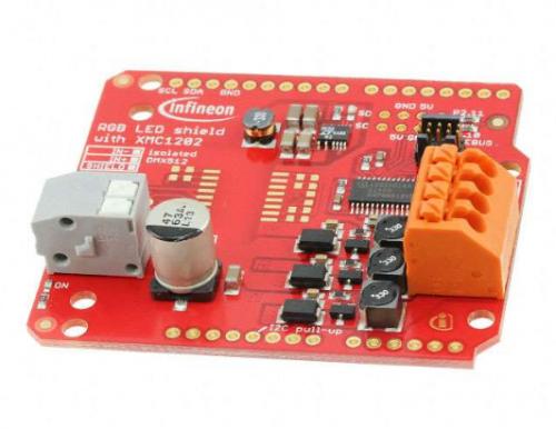 Infineon XMC1202 LED评估板
