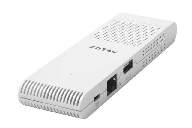 索泰推出首款电脑棒,大小与英特尔Computer Stick类似