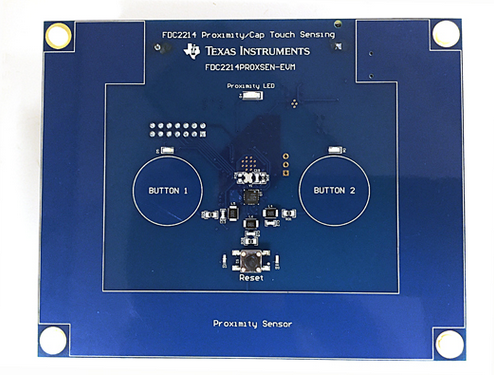FDC2x14EVM 评估模块