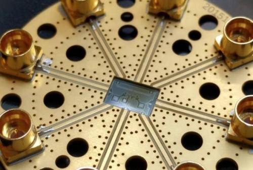 Rigetti Computing chip