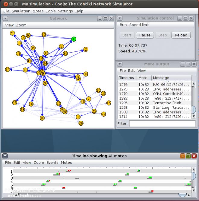开源操作系统Contiki,能支持地下无线追踪系统