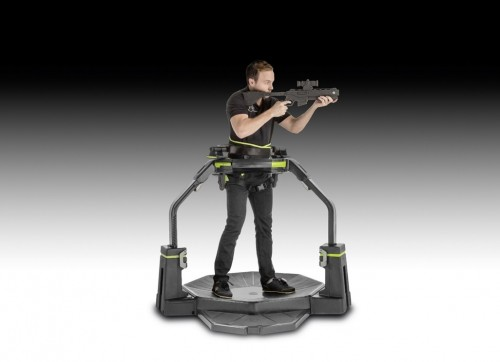 NOR048. Active Virtual Reality Gaming Platform